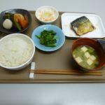 栄養バランのとれた昼食